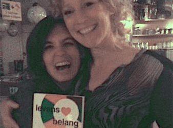 Baukje van Leeuwen lanceert haar boek Levensbelang