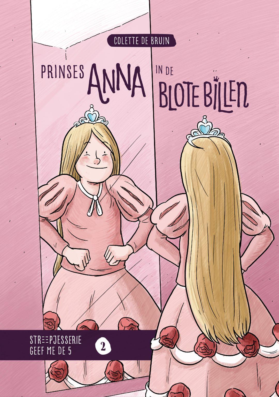 Cover boek Prinses Anna in de blote billen